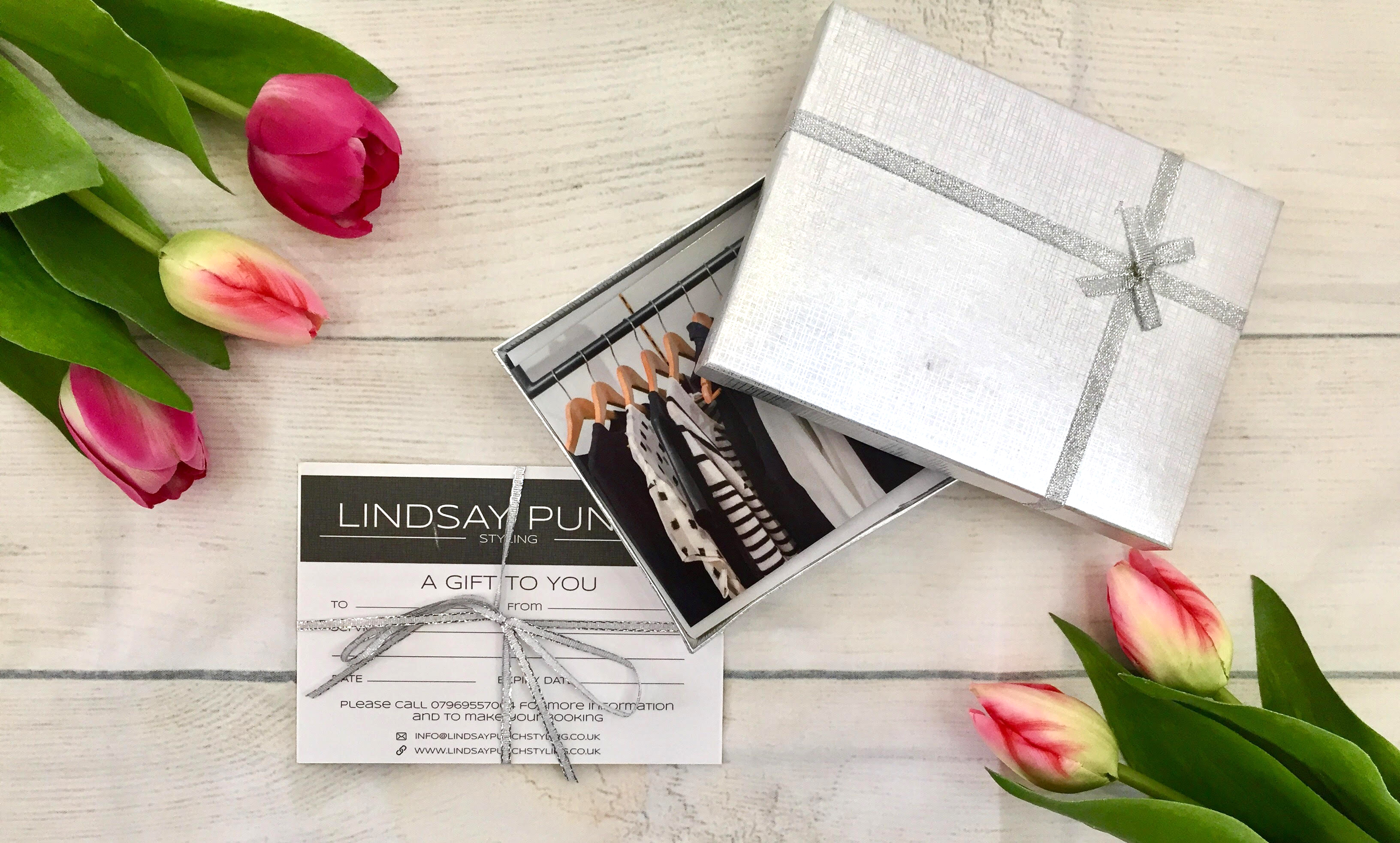 Gift Vouchers for Lindsay Punch Stylist